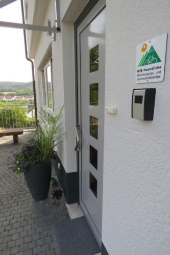 Schlüsselsafe am Eingang